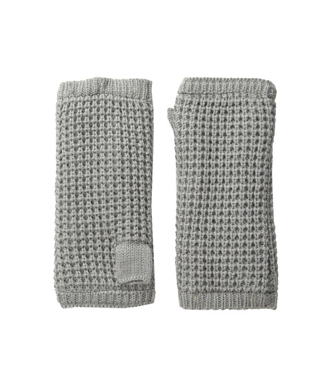 Hat Attack Waffle Knit Arm Warmer - Light Grey