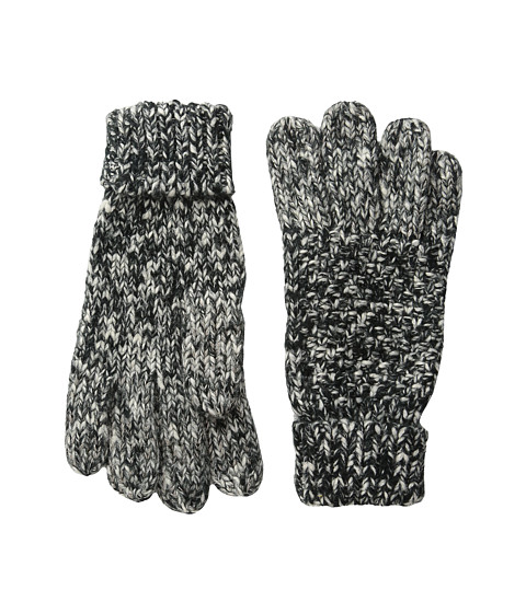 Hat Attack Tweed Texting Gloves - Black Tweed