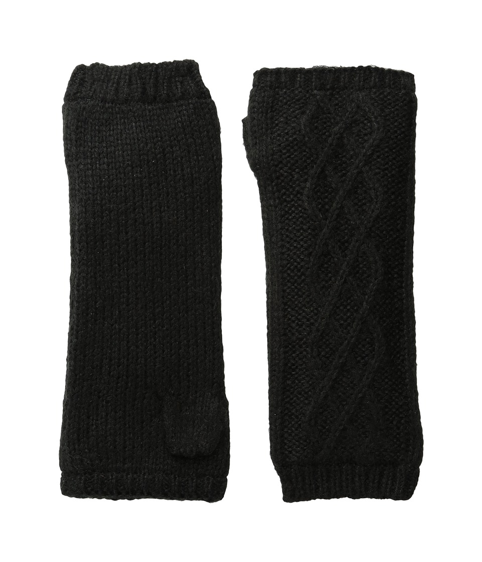 Hat Attack Microfur Arm Warmer (Black) Extreme Cold Weather Gloves