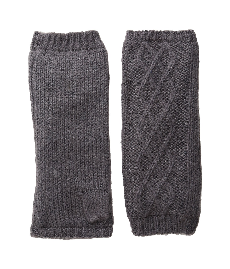 Hat Attack Microfur Arm Warmer (Charcoal) Extreme Cold Weather Gloves