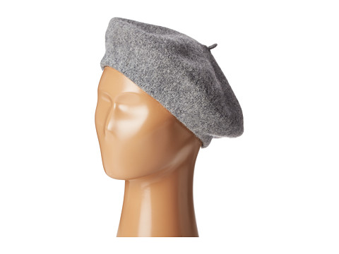 Hat Attack Wool Beret - Grey