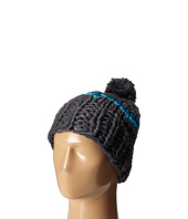 Hat Attack - Neon Stripe Skully with Pom