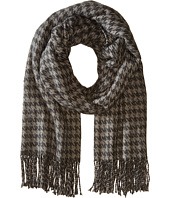 Hat Attack - Houndstooth Blanket Scarf