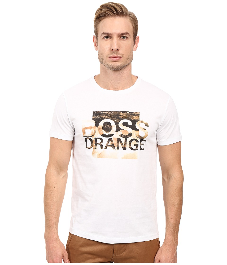 BOSS Orange - Terko 1 Logo T-Shirt (White) Men