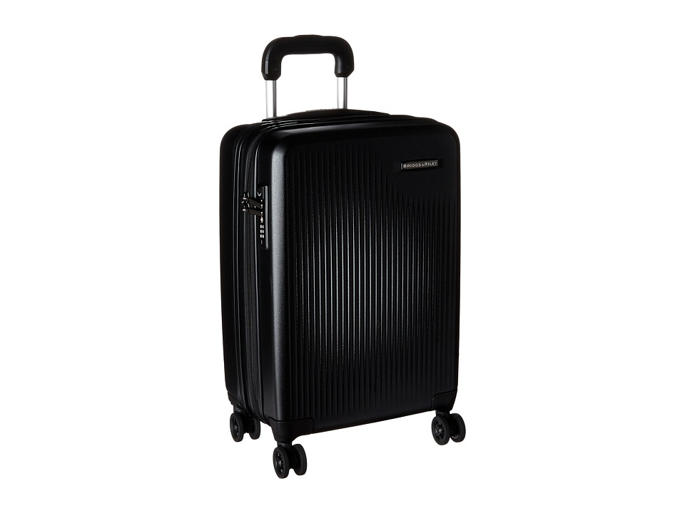 Briggs & Riley - Sympatico - International Carry-On Expandable Spinner (Black) Luggage