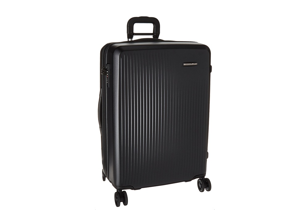 Briggs & Riley - Sympatico - Medium Expandable Spinner (Black) Luggage