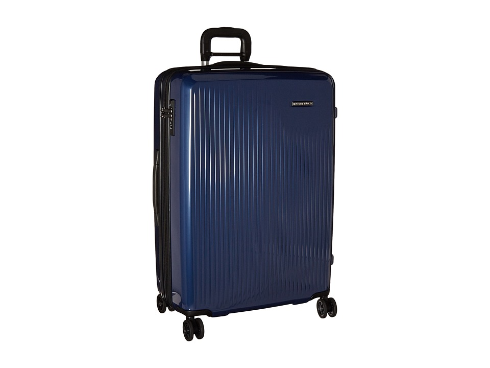 Briggs & Riley - Sympatico - Large Expandable Spinner (Marine Blue) Luggage