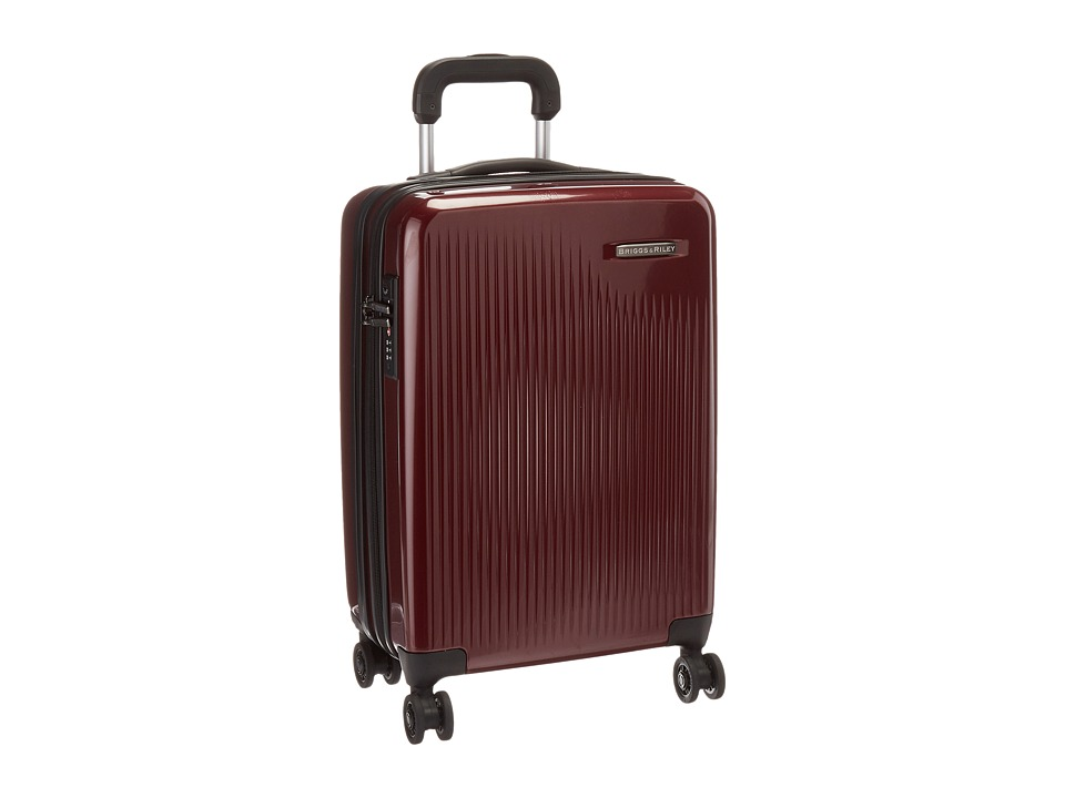 Briggs & Riley - Sympatico - International Carry-On Expandable Spinner (Burgundy) Luggage