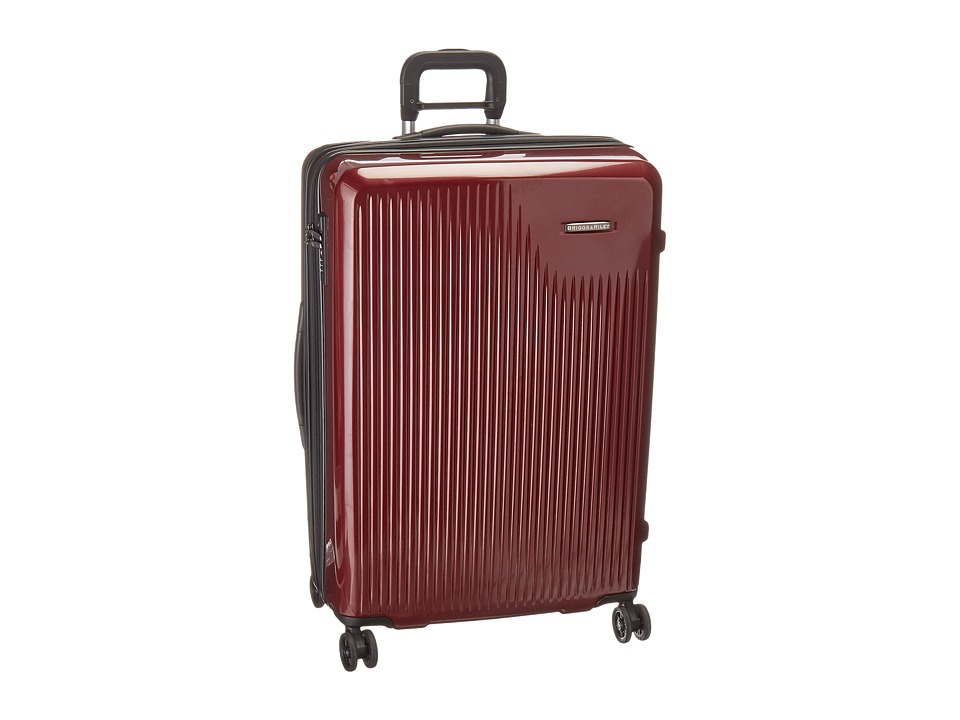 Briggs & Riley - Sympatico - Large Expandable Spinner (Burgundy) Luggage