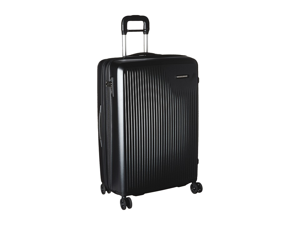 Briggs & Riley - Sympatico - Large Expandable Spinner (Black) Luggage