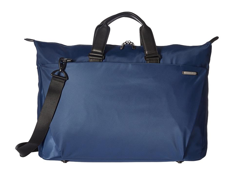 Briggs & Riley Sympatico Weekender Duffel (Marine Blue) Duffel Bags
