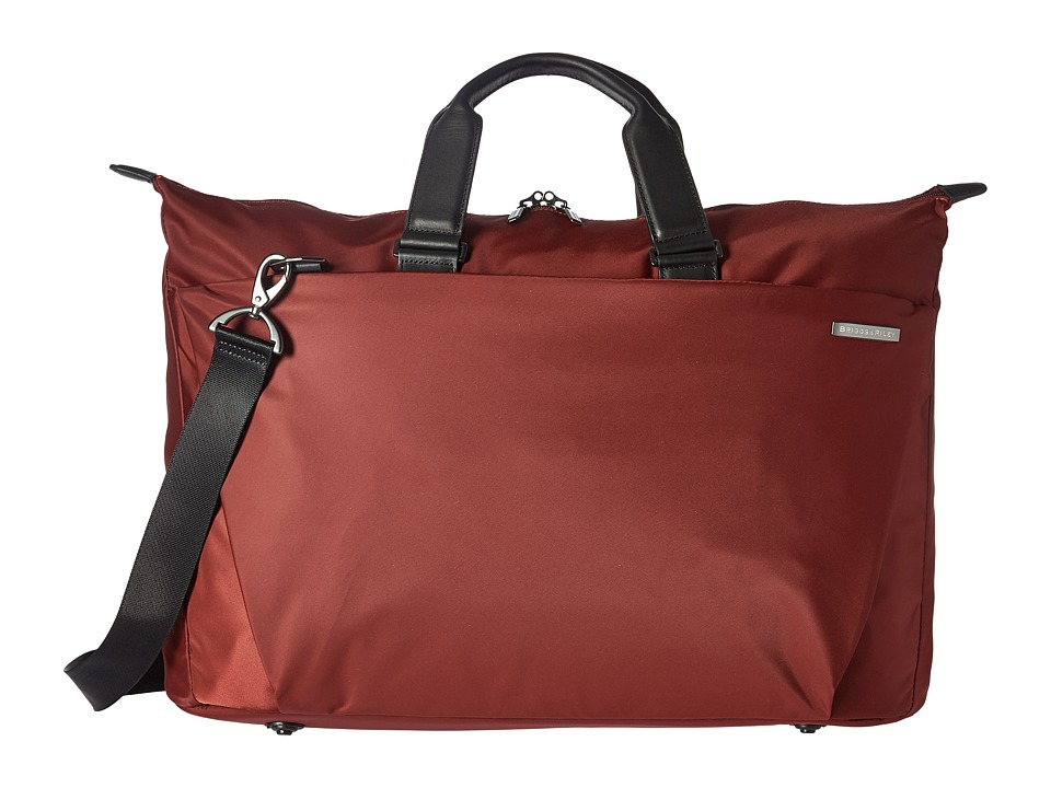 Briggs & Riley Sympatico Weekender Duffel (Burgundy) Duffel Bags