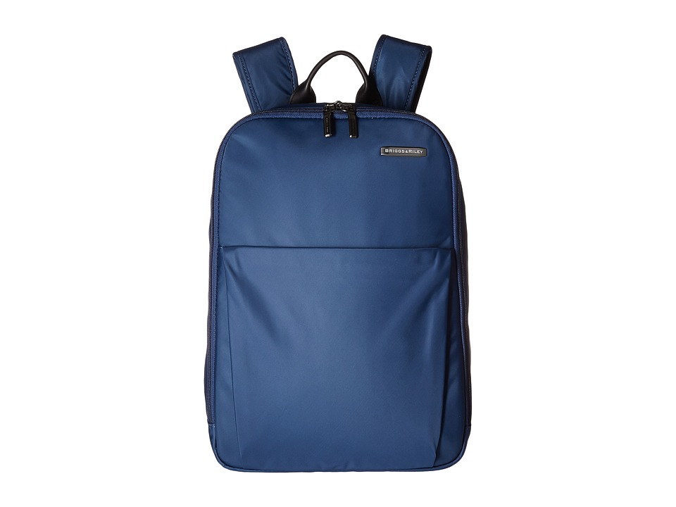 Briggs & Riley - Sympatico - Backpack (Marine Blue) Backpack Bags