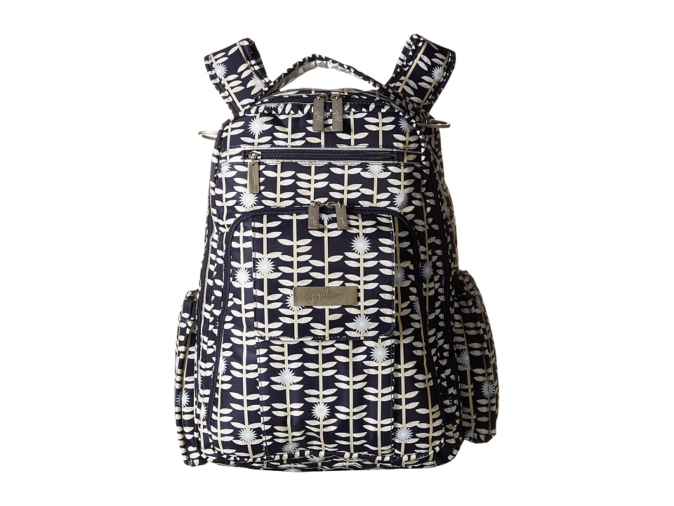 Ju-Ju-Be - Be Right Back Backpack Diaper Bag (Dandy Lines) Diaper Bags