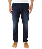 G-Star - 3301 Tapered Fit Jeans in Slander Indigo Superstretch Dark Aged