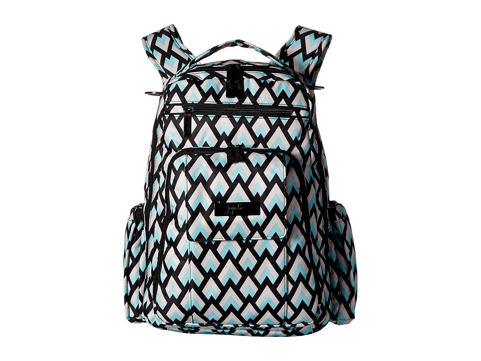 Ju-Ju-Be - Onyx Collection Be Right Back Backpack Diaper Bag (Black Diamond) Backpack Bags