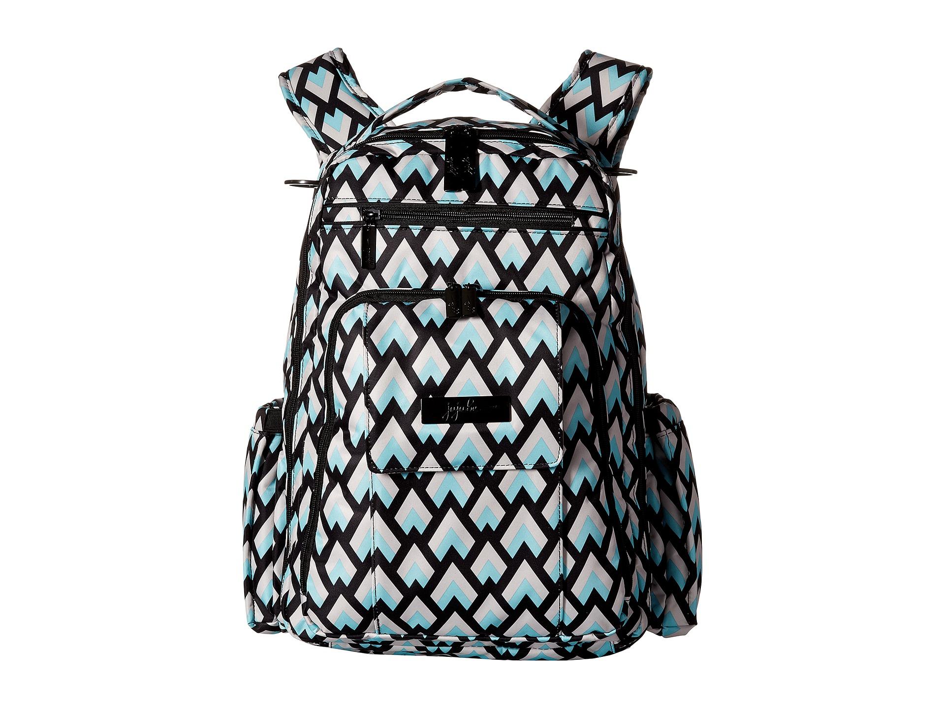 ju ju be onyx collection be right back backpack diaper bag. Black Bedroom Furniture Sets. Home Design Ideas