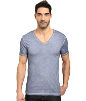 BOSS Orange - Toulouse Fashion Fit Garment Dyed Jersey V-Neck Tee