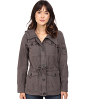 Levi's® - Washed Cotton Fashion Four-Pocket Military w/ Hood