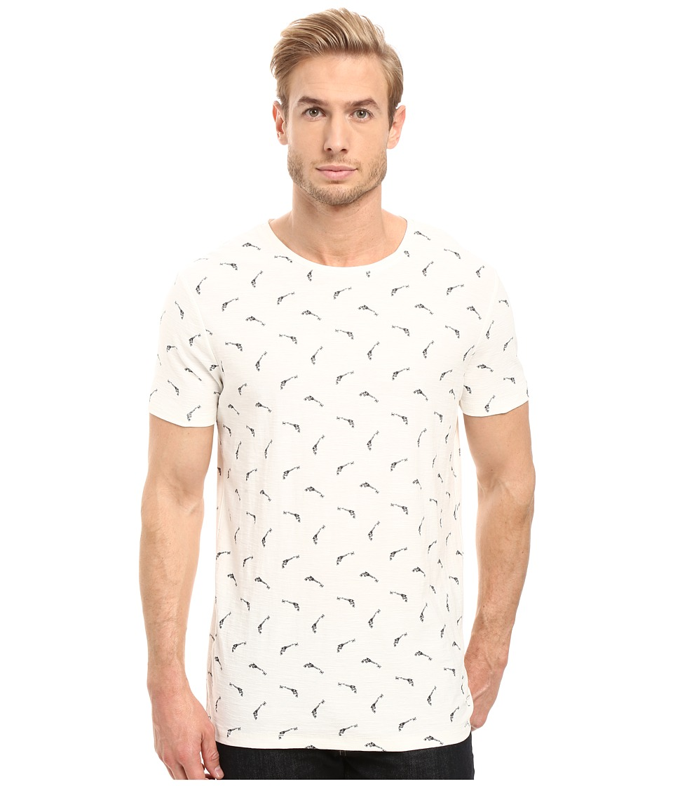 BOSS Orange - Thien All Over Printed T-Shirt (White) Men