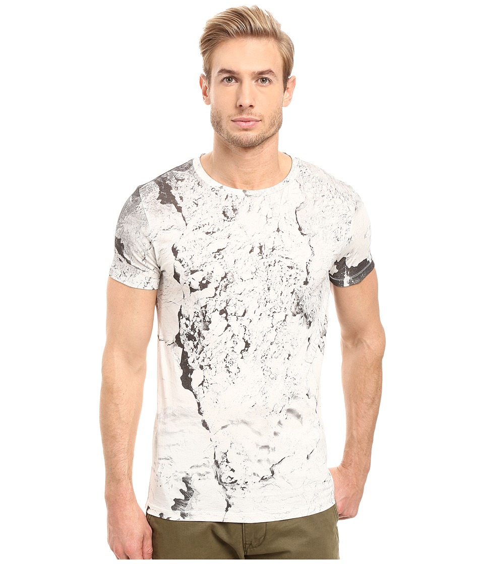 BOSS Orange - Tay 4 All Over T-Shirt (White) Men