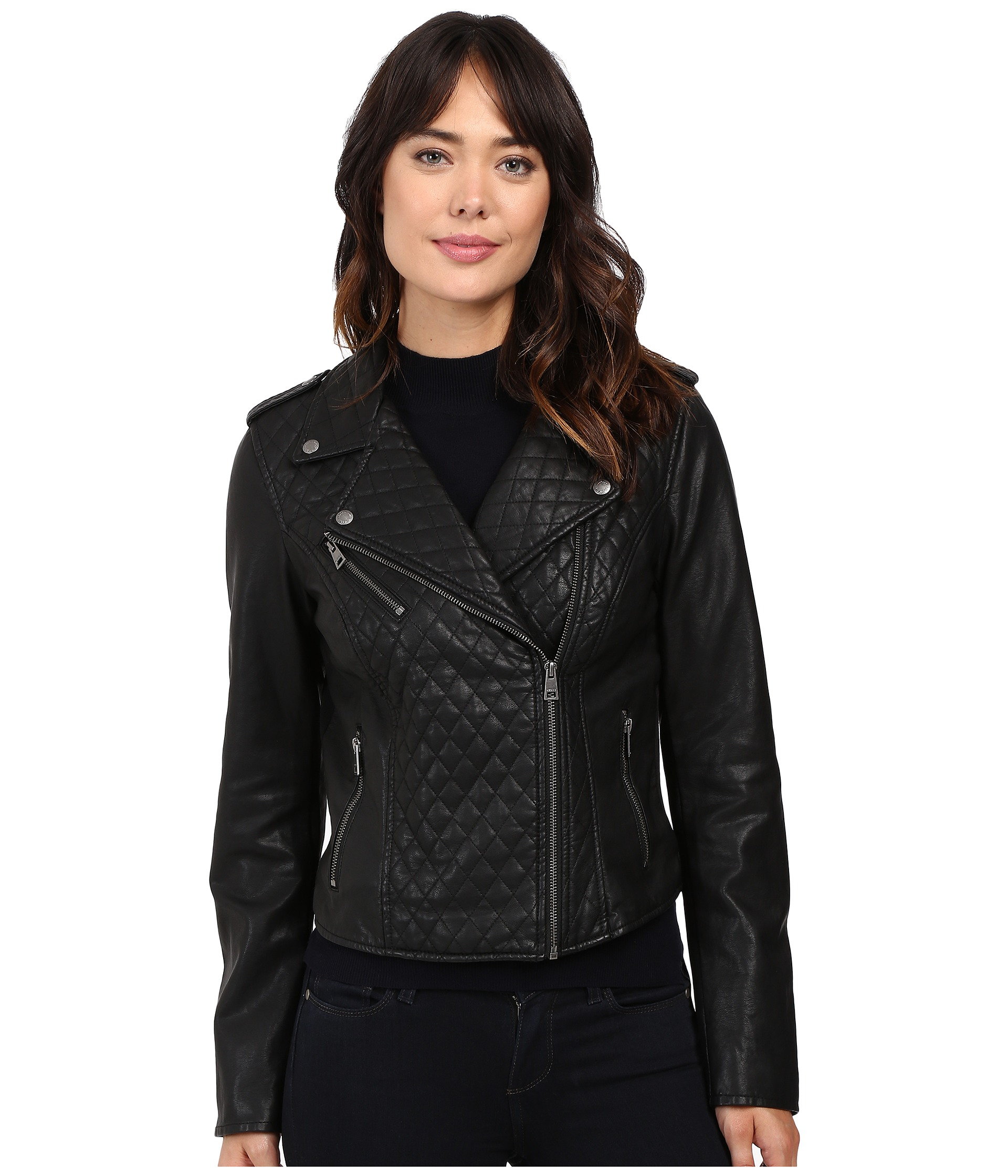 Leather Jacket   Shipped Free at Zappos