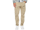 G-Star Rovic Zip 3D Tapered Fit Pants in Premium Micro Stretch Twill Dune