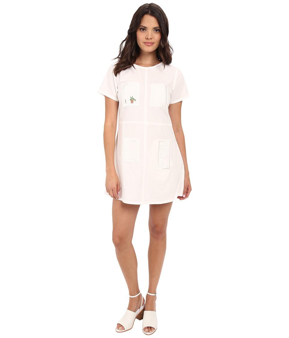 Samantha Pleet House Dress Ivory Womens Dress