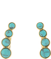 Rebecca Minkoff - Boho Bead Climber Earrings