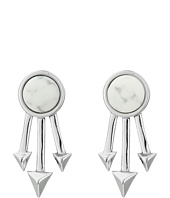 Rebecca Minkoff - Spiked Fan Stud Earrings