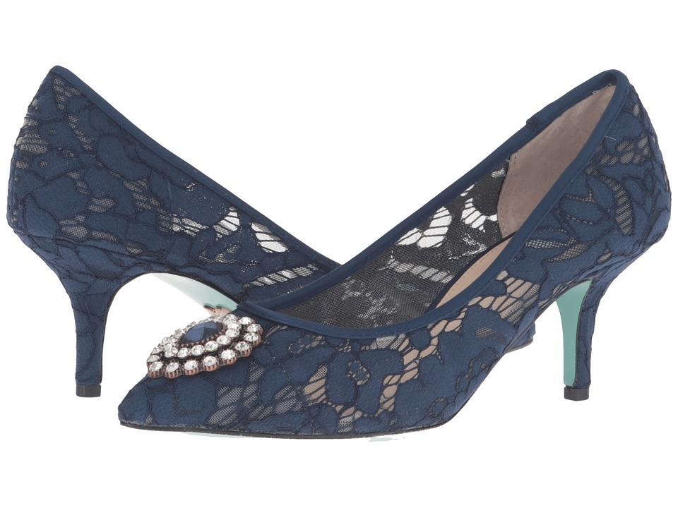 Blue by Betsey Johnson Karin (Midnight Blue) High Heels