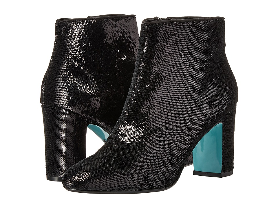 Blue by Betsey Johnson - Blair (Black Sequin) Women