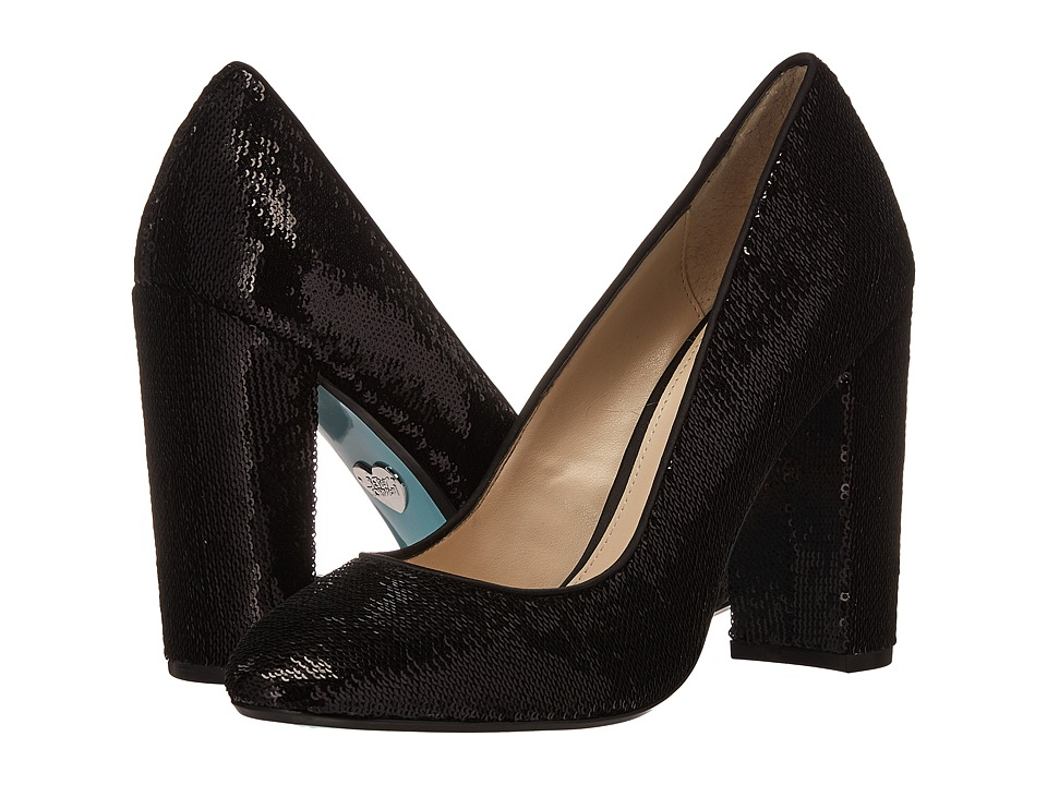 Blue by Betsey Johnson - Lou (Black Sequin) High Heels