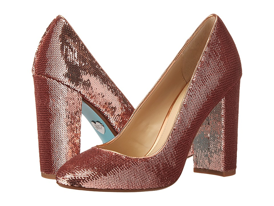 Blue by Betsey Johnson - Lou (Dusty Pink) High Heels