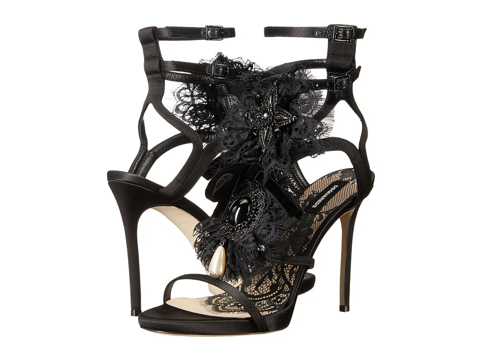 DSQUARED2 Strappy Sandal (Nero) High Heels