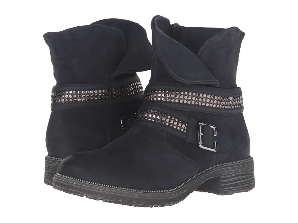 Rieker D1774 Zilli Lasercut Boot (Pazific/Pazific) Women