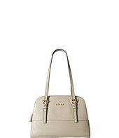 Calvin Klein - Claudia Glazed Leather Satchel