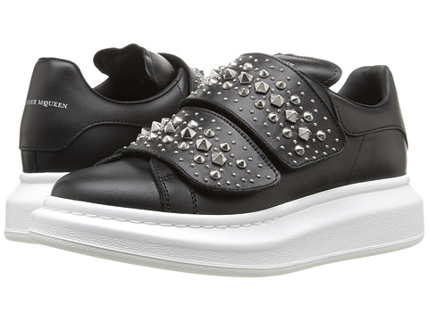 Alexander McQueen Sneake Pelle S.Gomma - Black