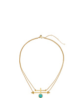 Rebecca Minkoff - Boho Bead/Spike Pendant Necklace