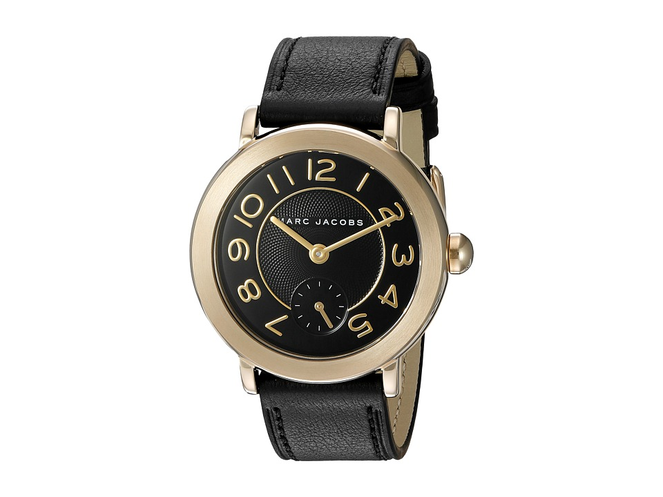 Marc Jacobs - Riley - MJ1471 (Black/Gold Tone) Watches
