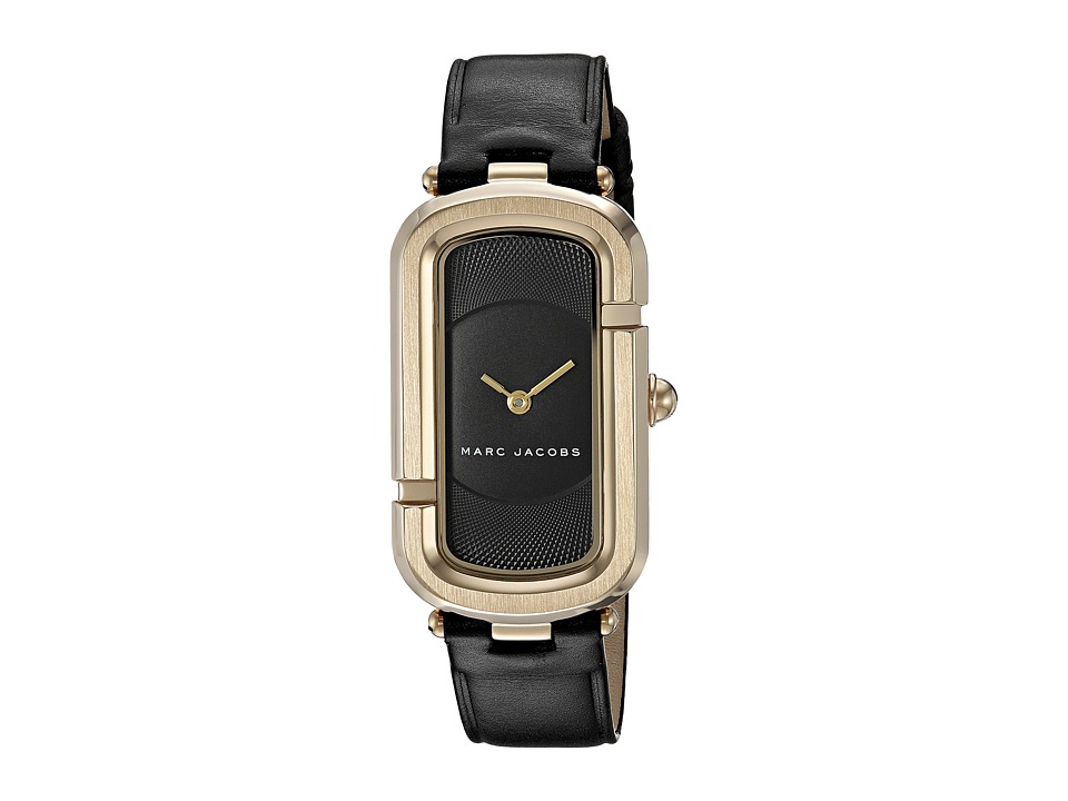 Marc Jacobs Monogram - MJ1484 (Black/Gold Tone) Watches