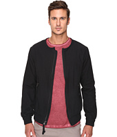 Publish - Jericho - Herringbone Twill Bomber Jacket Featuring Binded Neck