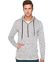 Publish - Haro - Heathered Speckle Terry Hoodie with Flat Bottom Long Back Hem
