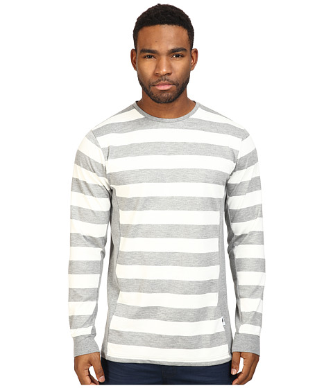 Publish Jed - Premium Striped Knit on Long Sleeve Tee