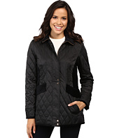 Vince Camuto - Quilted Jacket with Velvet Trim L8181