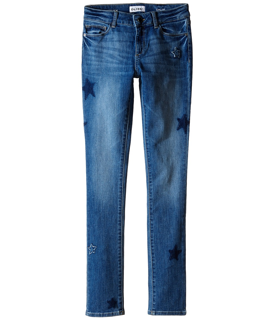 DL1961 Kids Chloe Skinny Jeans in Adventure Big Kids Adventure Girls Jeans