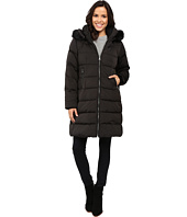 Vince Camuto - Zip Front Faux Fur Trim Down L1991