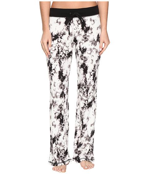 P.J. Salvage Marble Tye-Dye Lounge Pants - White
