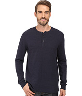 Threads 4 Thought - Double Face Long Sleeve Henley