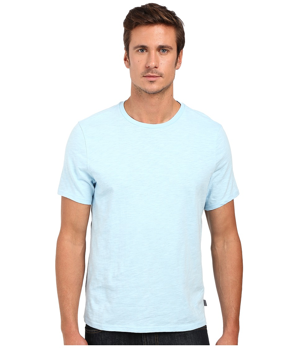 Threads 4 Thought Banks Slub Cotton Crew Tee Sky Blue Mens T Shirt
